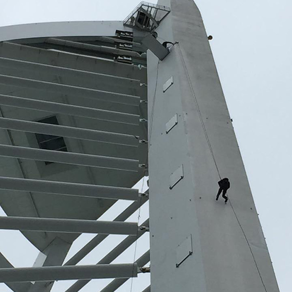 really useful pa abseiling image